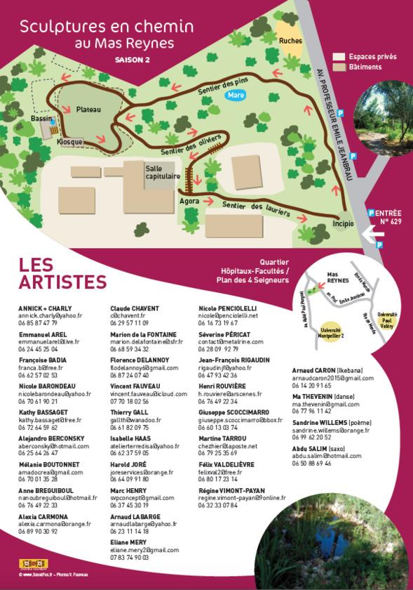 Exposition Sculptures au Mas Reynes - Montpellier