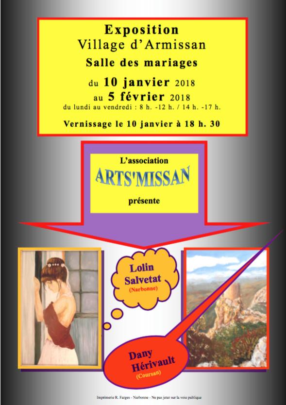 Exposition - HERIVAULT & LOLIN - Armissan