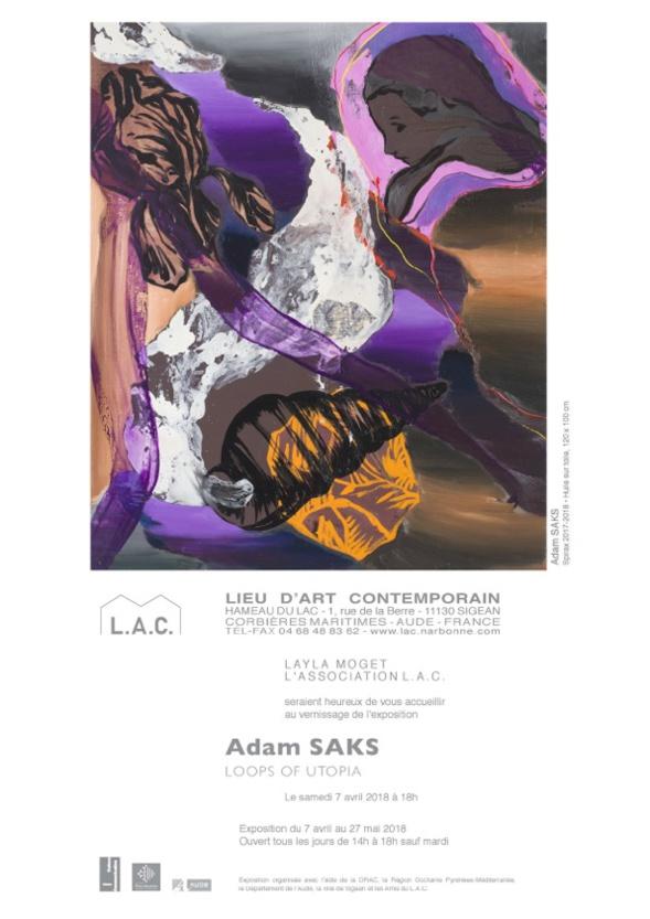 Exposition Adam Saks au LAC - Sigean
