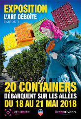 L'ART DEBOITE 3ème EDITION - Béziers