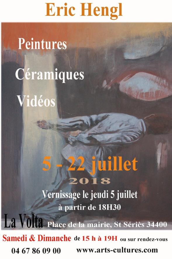 Exposition d'Eric Hengl à La Volta