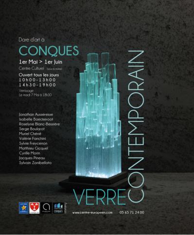 Verre contemporain - Centre culturel de Conques