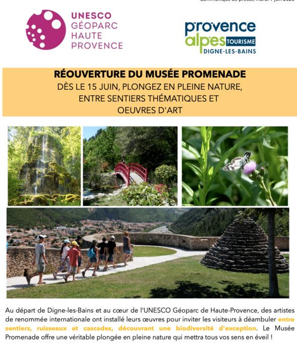 Musée Promenade & ses sentiers thématiques - Dignes-les-Bains