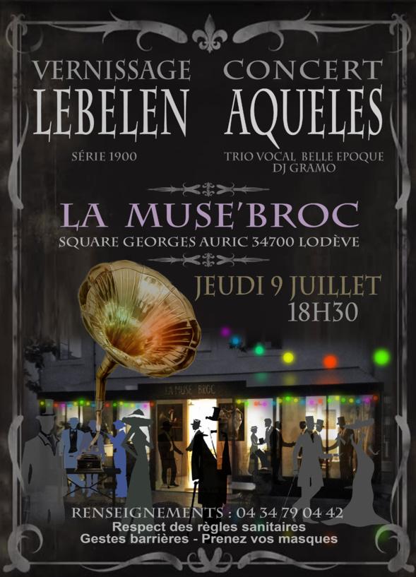 Nicolas LEBELEN - LODÈVE - la Muse'Broc