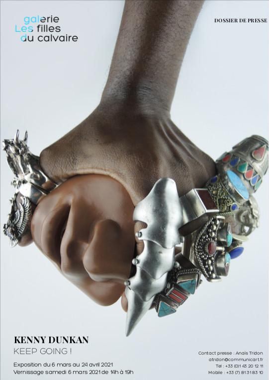 Exposition personnelle de l'artiste guadeloupéen Kenny Dunkan
