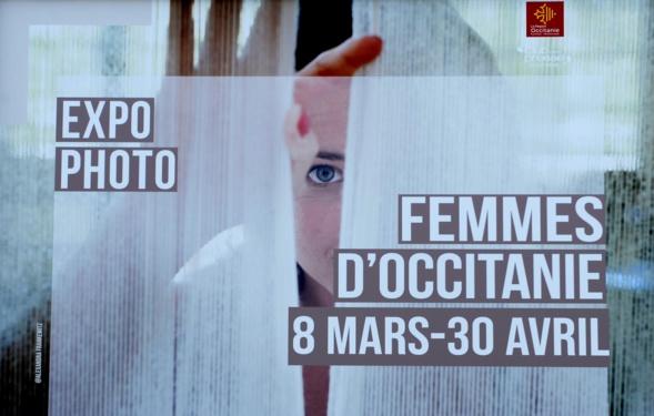 Expo photo - Femmes d'Occitanie - Montpellier - Esplanade Hôtel de Région.
