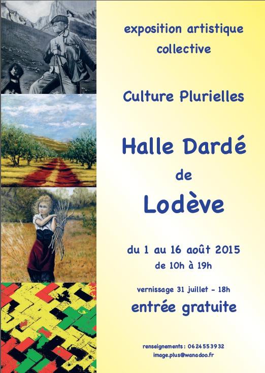 Exposition collective à la Halle Dardé à Lodève