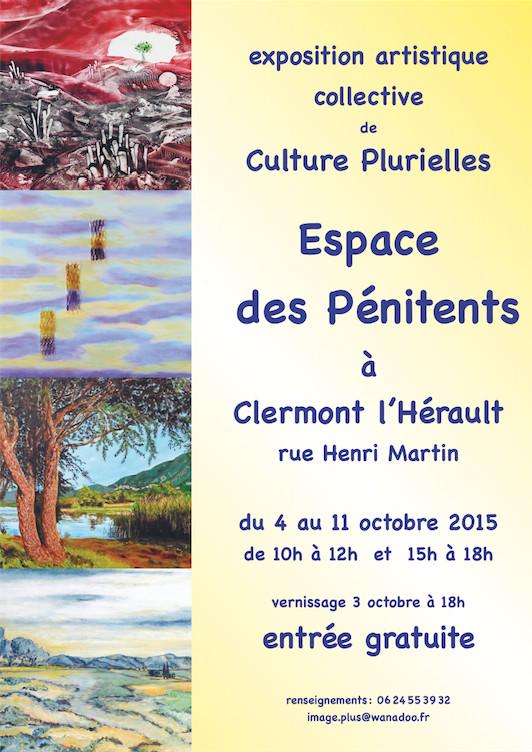"""Exposition collective """"Culture Plurielles"""" à Clermont-l'Hérault"""