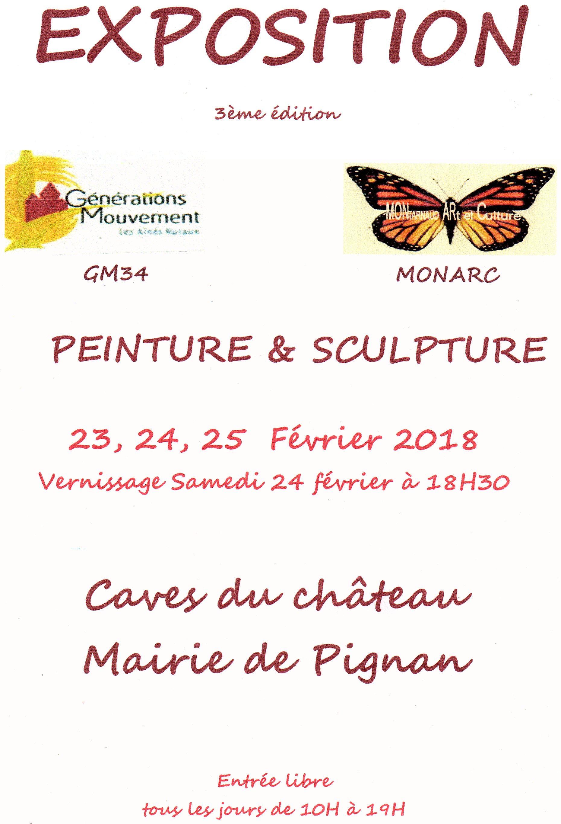 Exposition Pignan