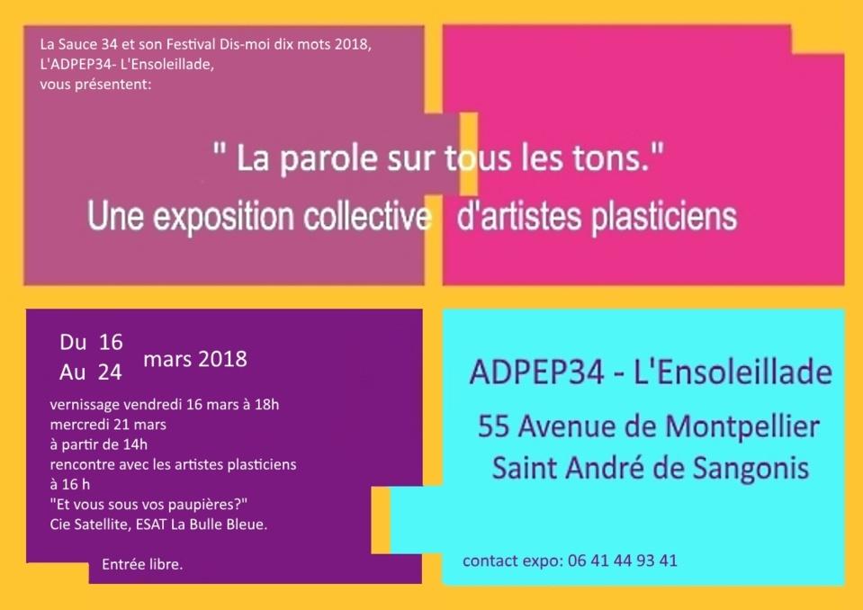 La parole sur tous les tons - Saint André de Sangonis  Hérault.