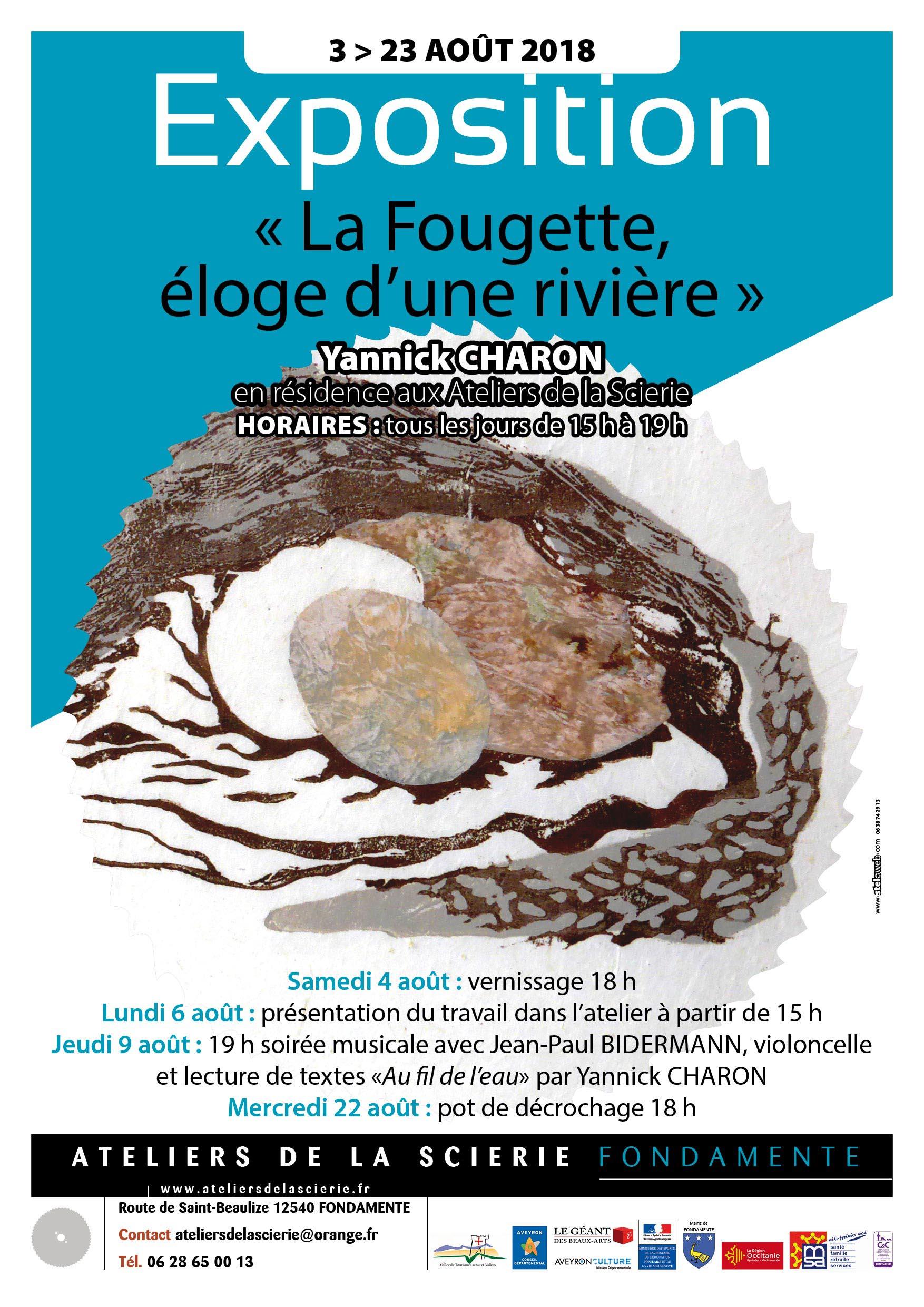 La Fougette, éloge d'une rivière - Fondamente (12540)