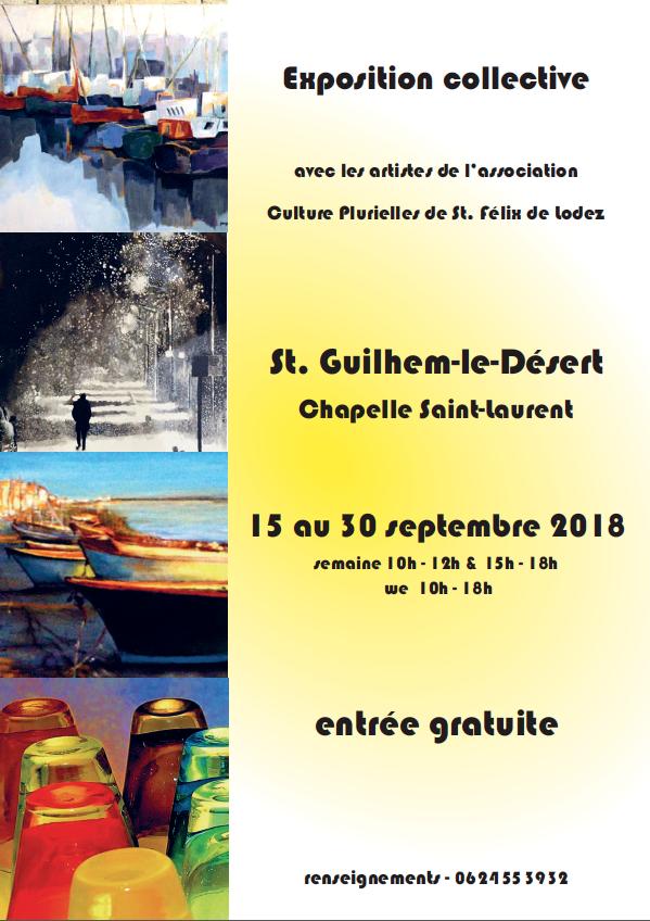 Exposition Culture Plurielles - Saint-Guilhem le Désert