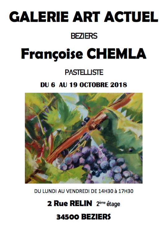 EXPO de Françoise CHEMLA - Béziers