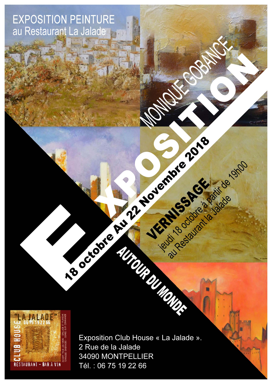 Exposition au restaurent LA JALADE - Montpellier