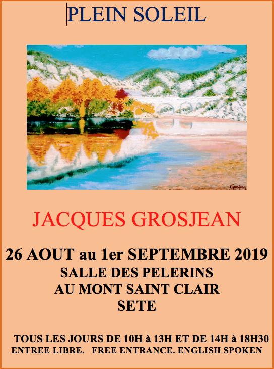 Jacques GROSJEAN - Sète