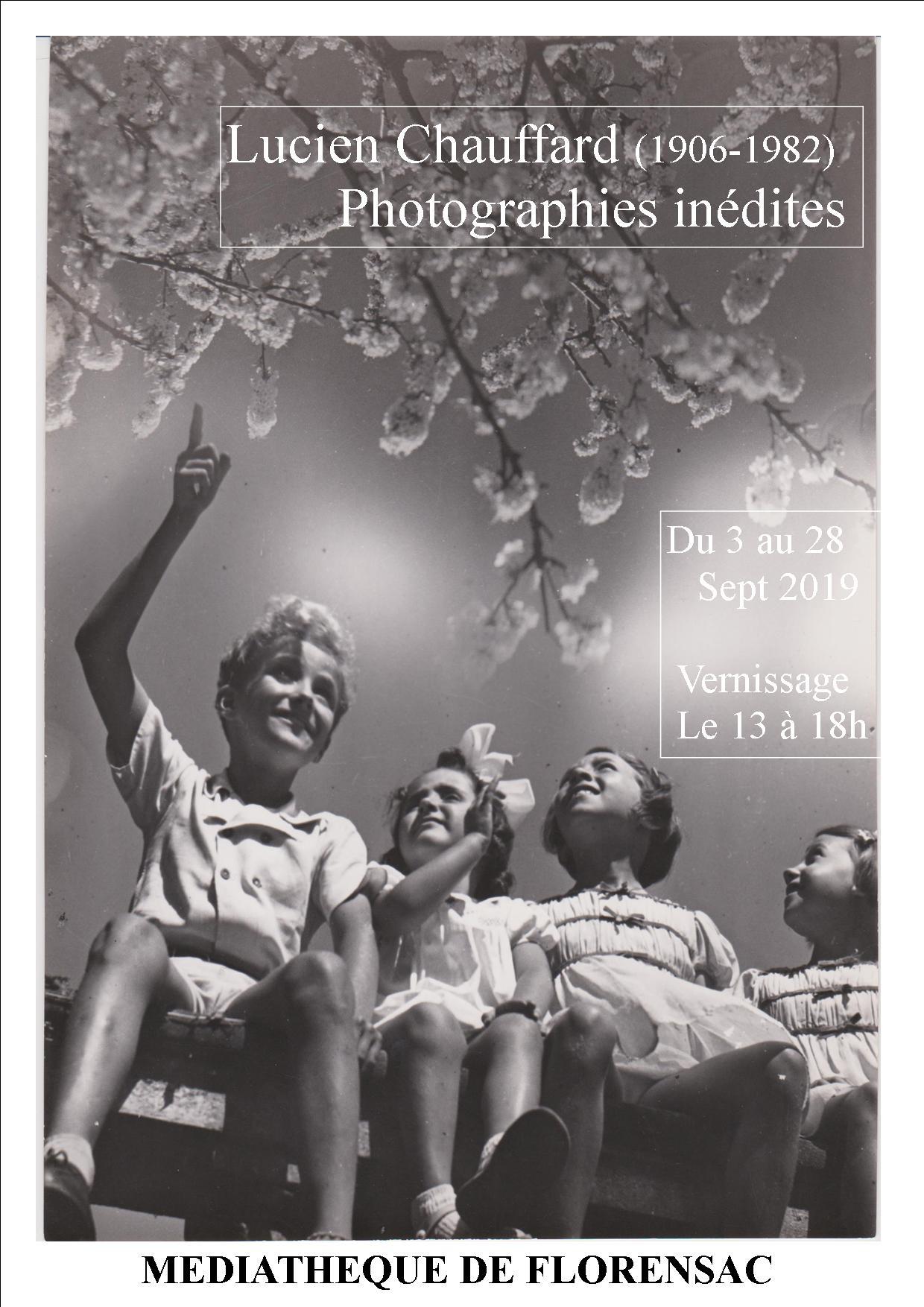Exposition Lucien Chauffard - Médiathèque Florensac