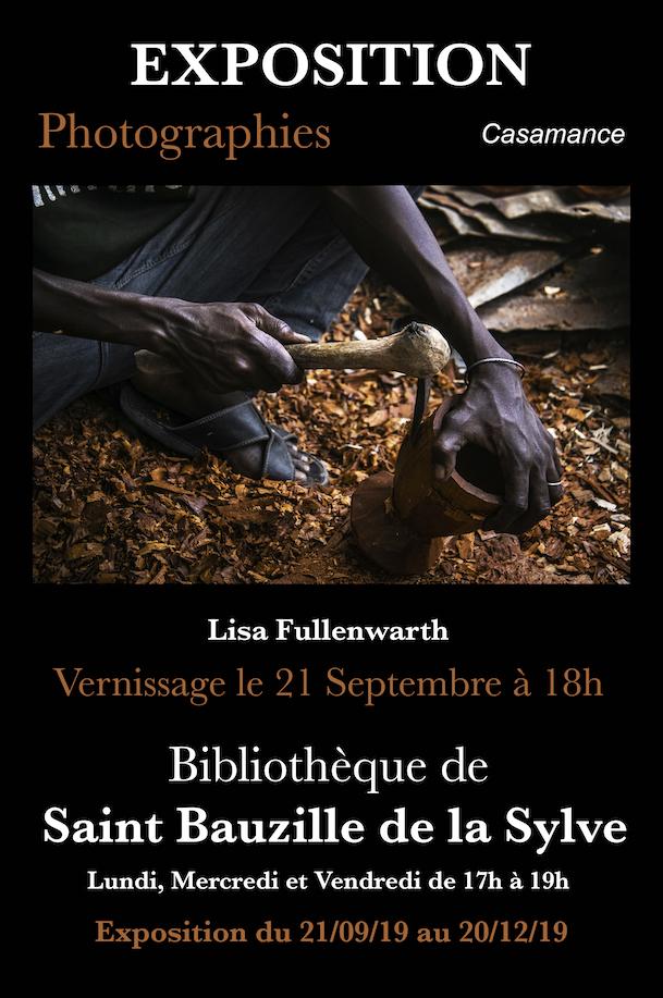 Exposition de photos de Lisa FÜLLENWARTH à la Bibliothèque se Saint -Bauzille-de-la-Sylve