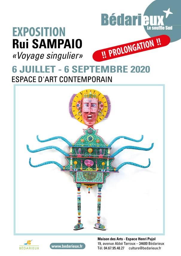 """Exposition """" RUI SAMPAIO """" à l'Espace d'Art Contemporain de Bédarieux"""