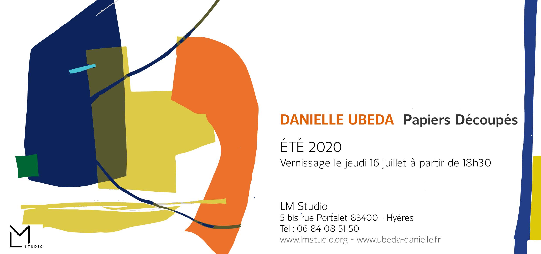 Exposition de Danielle Ubéda à HYÈRES