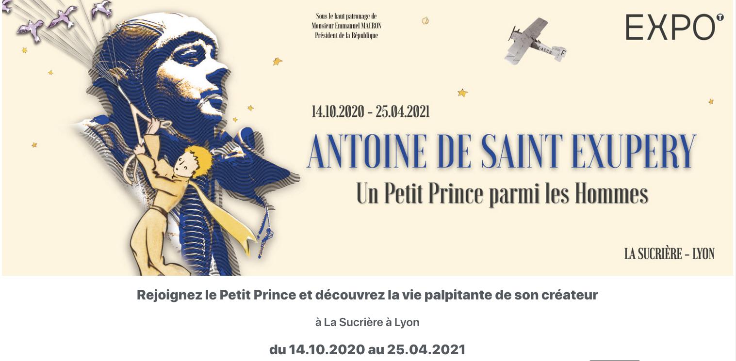 Exposition - Antoine de Saint Exupéry : Un Petit Prince parmi les Hommes