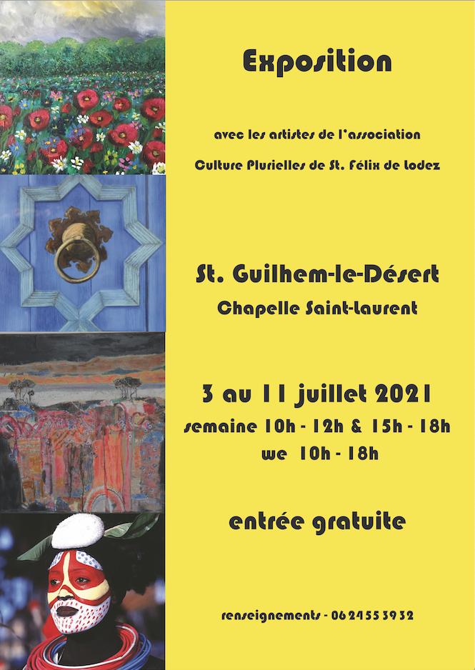Exposition Saint-Guilhem-le-Désert - Chapelle Saint-Laurent