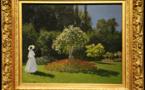 La photo du jour - Claude MONET - Dame dans le jardin (1867)