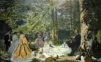 La photo du jour - Claude MONET - Le Déjeuner sur l'herbe (1866)