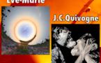 Eve-Marie et Jean Claude Quivigne  à l'atelier galerie Etc… Arts à Bédarieux