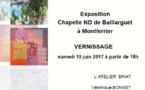 Exposition à Baillarguet  - Montferrier -sur-Lez