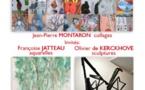 Exposition à LA LIVINIÈRE de Françoise JATTEAU et Olivier de KERCKHOVE