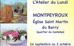Culture Plurielles & L'Atelier du Lundi - exposent à Montpeyroux (34)