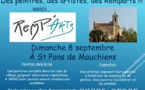 Saint Pons de Mauchiens (peintres dans la rue.