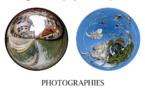 """Exposition photographique """"Allégorie cosmique par anamorphose"""""""