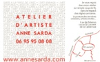 Atelier de Anne SARDA à Sant Laurent de la Cabrerisse