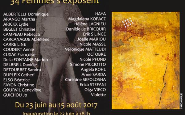 Exposition de l'été de la Coop-Art Serviès-en-Val, près de Lagrasse (11)