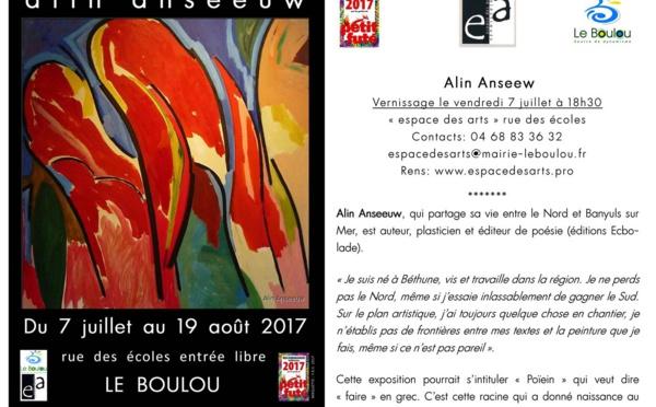 EXPOSITION ALIN ANSEEW AU BOULOU