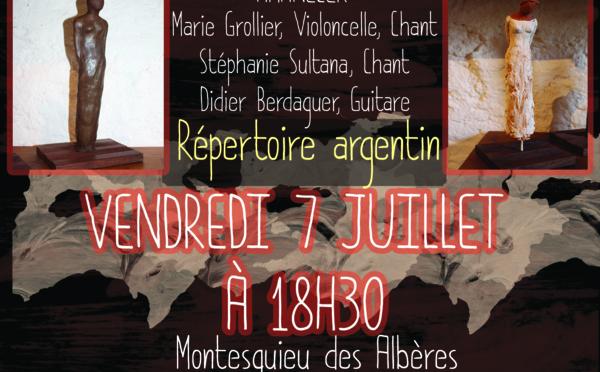 Isabelle Buissonnet  expose à Montesquieu-des-Albères