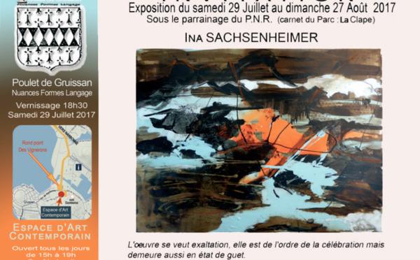 Exposition Ina Sachsenheimer - Gruissan