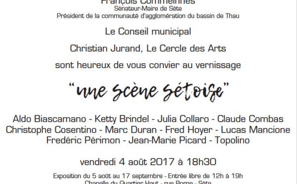 """Exposition """" Une scène sétoise """" Chapelle du Quartier Haut - Sète"""