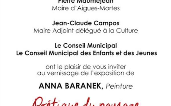 Anna Baranek  aux Tours et Remparts  d'AIGUES MORTES