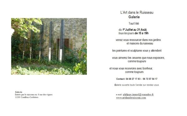 L'Art dans le ruisseau - Cornihac-Corbières