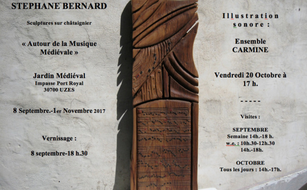 Exposition  de sculpture à UZÈS