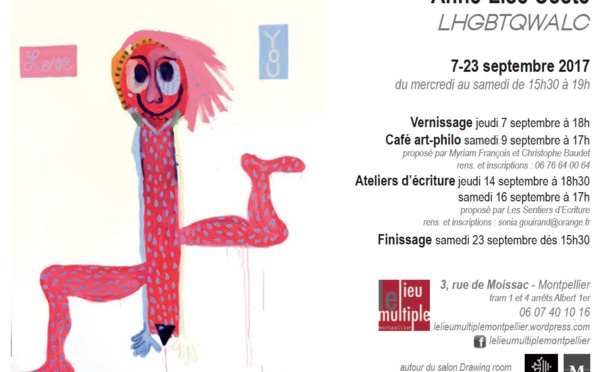 Exposition d'Anne-Lise Coste - Montpellier