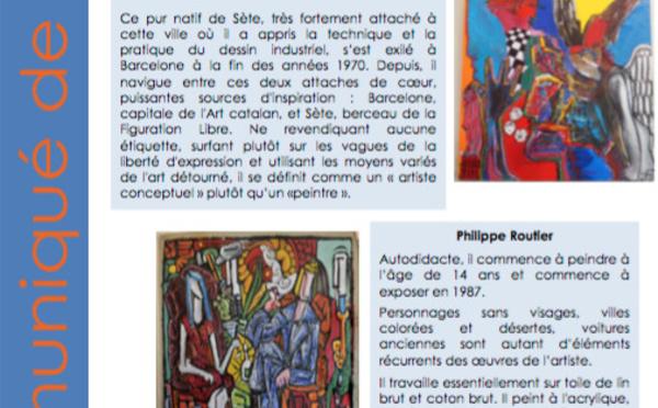 « L'art en partage » : galerie Reynaud - Baillargues