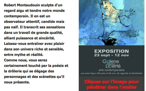 Expo de ROBERT MONTAUDOUIN à CREST