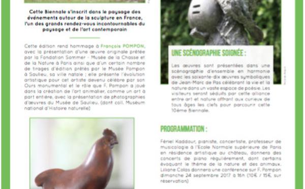LA 10 EME BIENNALE DE SCULPTURE HOMMAGE À FRANÇOIS POMPON - Saulieu