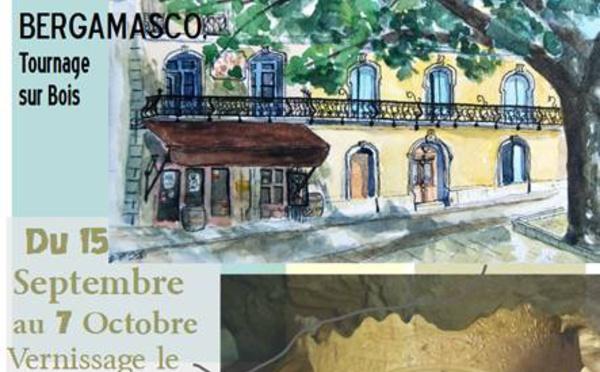 Exposition  à la Médiathèque de Gignac