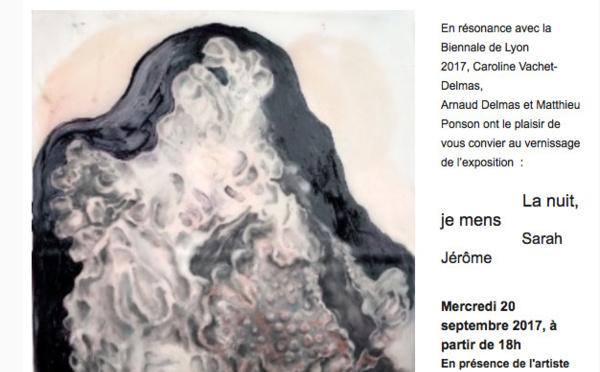 La nuit, je mens, Sarah Jérôme > à la Galerie LARNOLINE - SAUVE (30610)