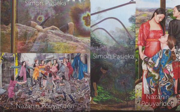 Exposition de Simon PASIEKA & Nazanin POUYANDEH