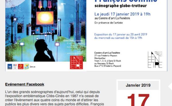François Confino scénographe globe trotteur - Montpellier